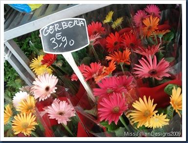 Paris flower stand