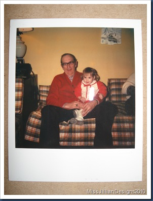 my grandpa and I, January 2, 1982