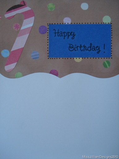 Birthday Card - Merry Ditty - Inside