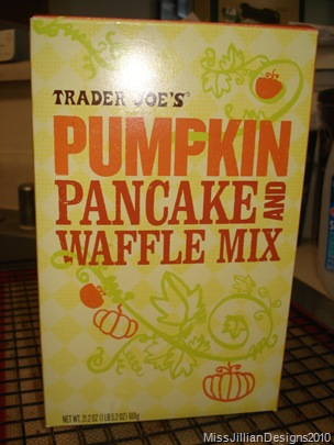 Trader Joe's Pumpkin Pancake Mix