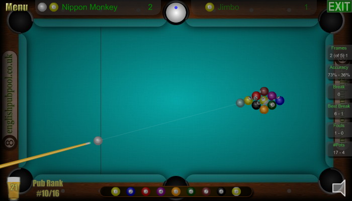American 9-Ball Pool - Screen Shot