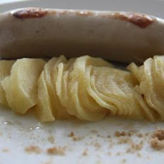 Sausages with Apples and Calvados Sauce