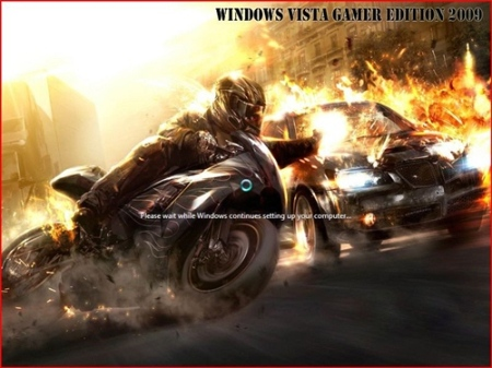 Windows Vista Gamer Edition SP1 X86 [Ingles]
