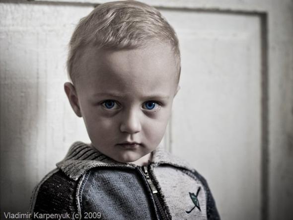 Про те яким має бути дитячий портрет