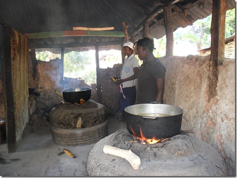 la roche au pont food preparation