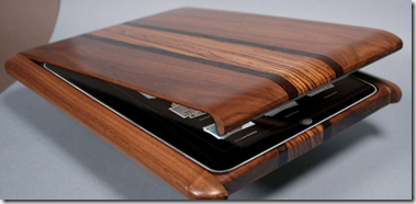 Wooden iPad Case