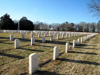 Modern Graves at Andersonville National Cemetery