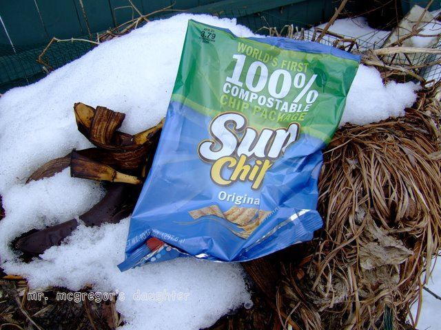 Sustainability - Testing the World's 1st Compostable Chip Bag