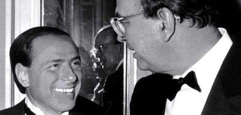 Craxi e Berlusconi