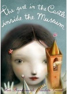 girl inside castle museum