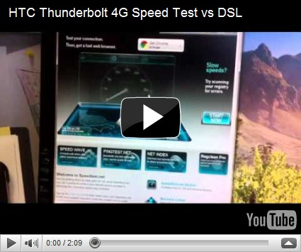 hggadgets htc thunderbolt 4g speed test vs dsl. Black Bedroom Furniture Sets. Home Design Ideas