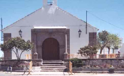 Fachada de la ermita de San Gregorio, de donde salen los titulares del Lunes Santo en Pozoblanco