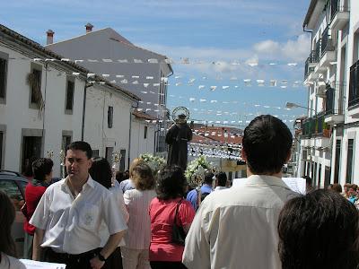 Procesión de San Antonio 2007. Foto: Emilio Guijo