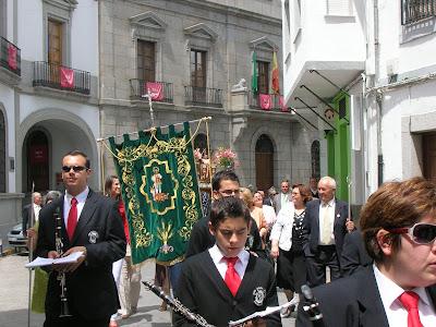 La Banda Municipal de Música de Pozoblanco durante la celebración de San Isidro Labrador de Pozoblanco. Foto: Banda Municipal de Música de Pozoblanco  (Córdoba)* www.bandamunicipaldepozoblanco.blogspot.com
