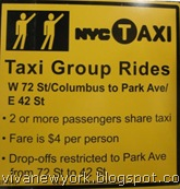 taxis compartidos new york