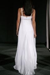 vestido de novia simple y comodo