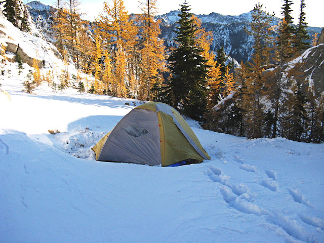 Oh and dress warm! & Which tent stakes for snow? - Trailspace.com
