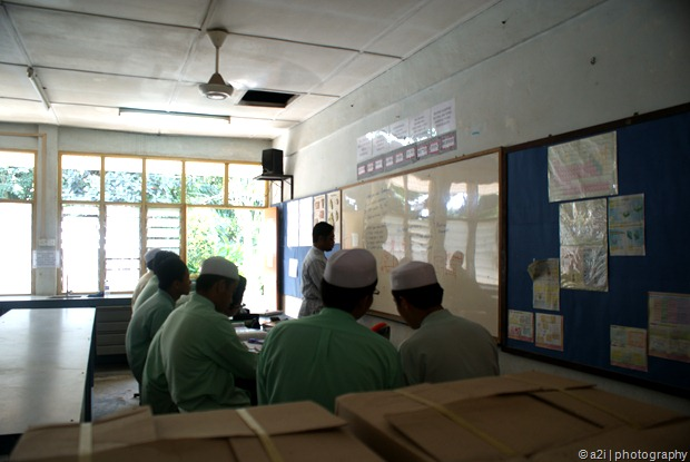 12/2/2010 - My first day as a teacher at Ibn Khaldun Islamic Secondary School, Shah Alam.