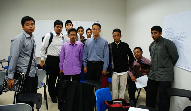 My group with our instructor after the program ended