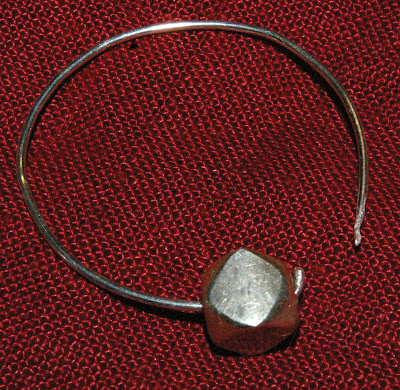 Boucle d'oreille VIème siècle SG1L7301