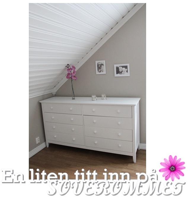 En liten titt på soverommet(blogg)