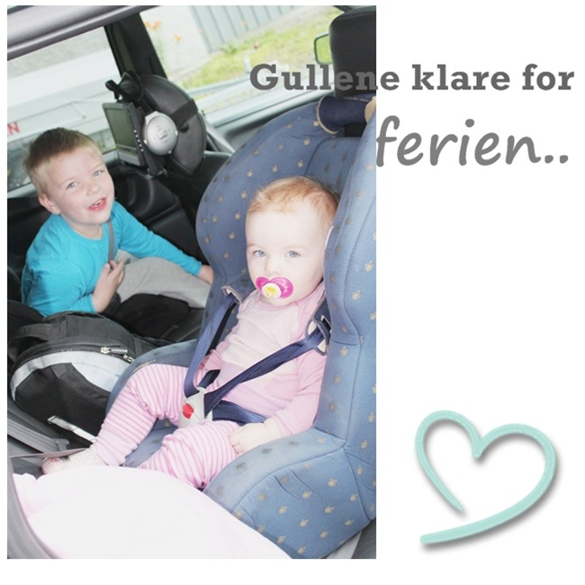 gullene klare for ferien
