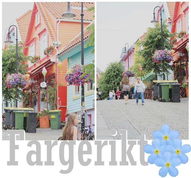 Fargerikt i Stavanger