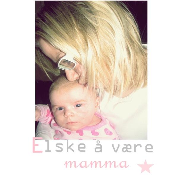 Elske å være mamma til blogg