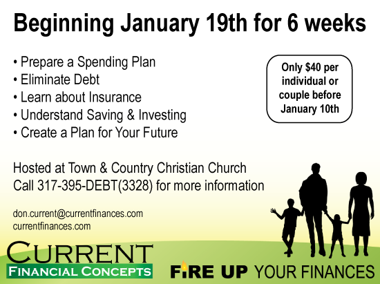 Fire Up Your Finances Flyer