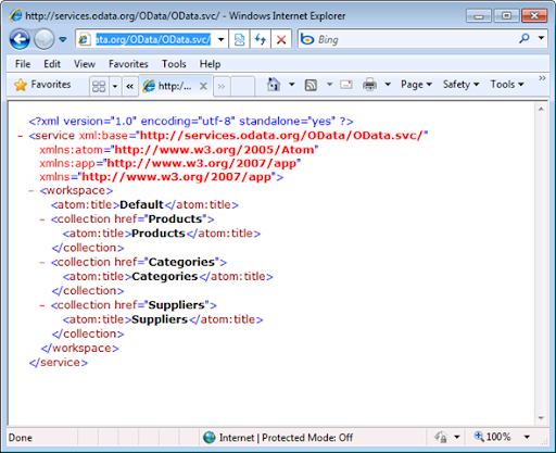 OakLeaf Systems: Querying OData.org's SQL Azure Northwind Sample ...
