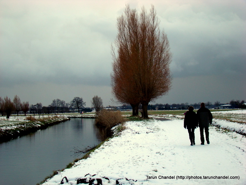 Couple on River Bank Netherlands Holland Dutch, Tarun Chandel Photoblog