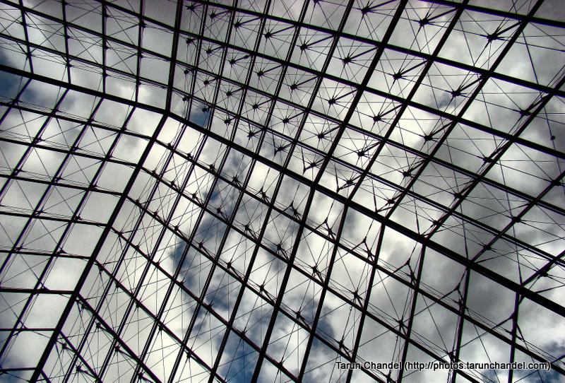 Louvre Museum Paris France Glass Pyramid, Tarun Chandel Photoblog