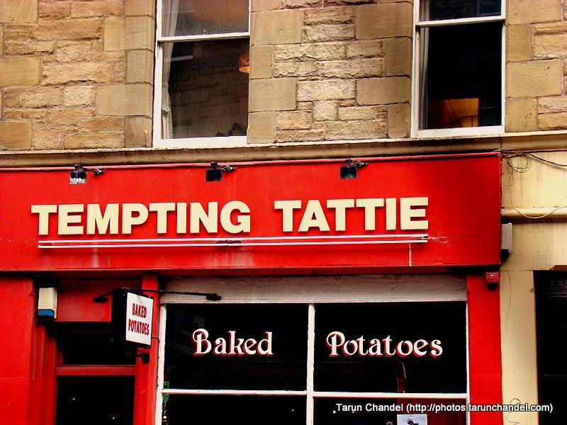 Tatties and Haggis are Scottish delicacies, Tarun Chandel Photoblog