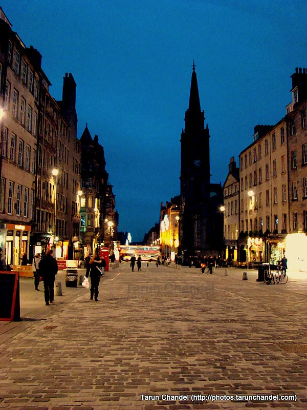 Edinburgh Royal Mile, Tarun Chandel Photoblog