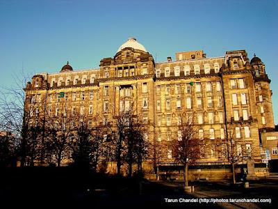 Glasgow Royal Infirmary, Tarun Chandel Photoblog