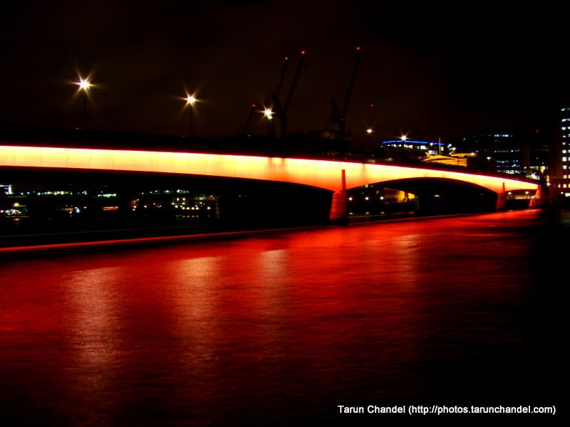 Night London Bridge, Tarun Chandel Photoblog