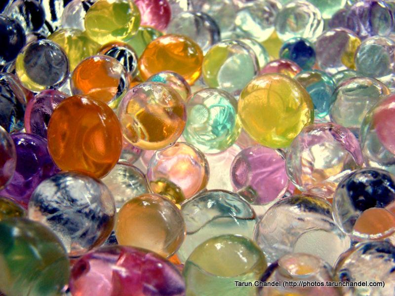 Colorful Gel Balls, Tarun Chandel Photoblog