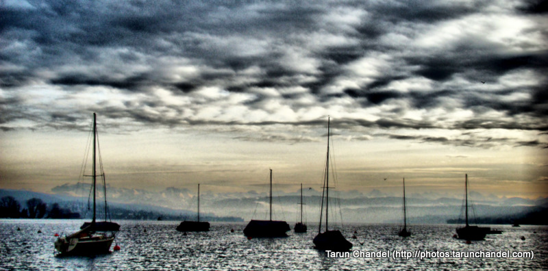 Zurich Lake Switzerland Swiss HDR, Tarun Chandel Photoblog