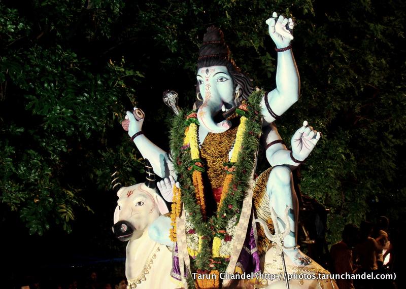 Ganpati Ganesh Visarjan Festival Mumbai, Tarun Chandel Photoblog