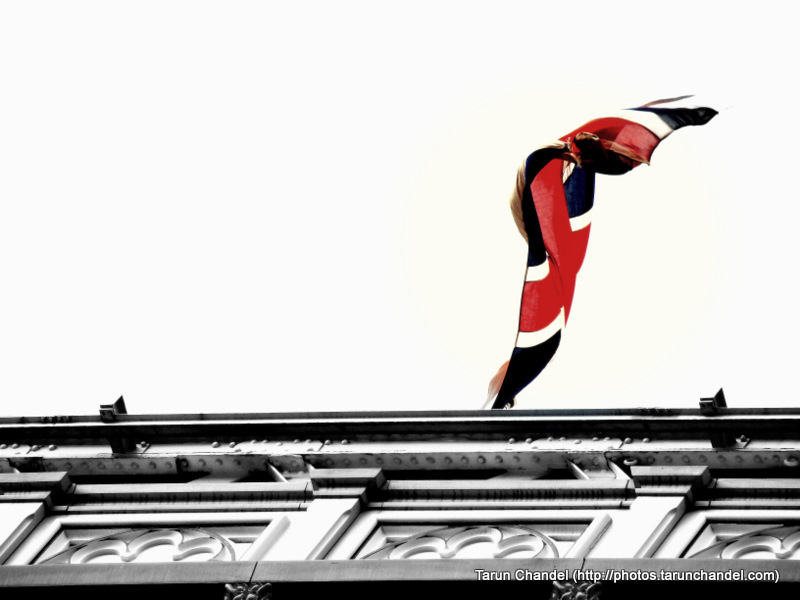 Unioin Jack Flag, Tarun Chandel Photoblog