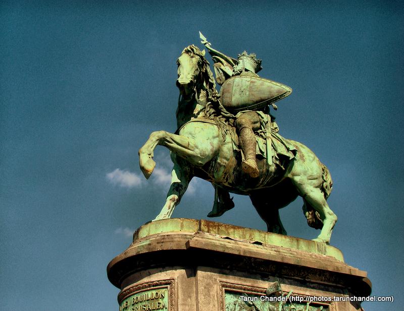 Bouillon Godfrey of Bouillon King Brussels, Tarun Chandel Photoblog