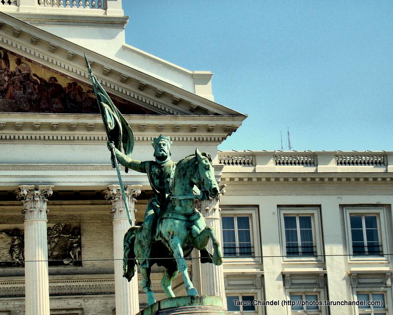 Godfrey of Bouillon King Brussels, Tarun Chandel Photoblog