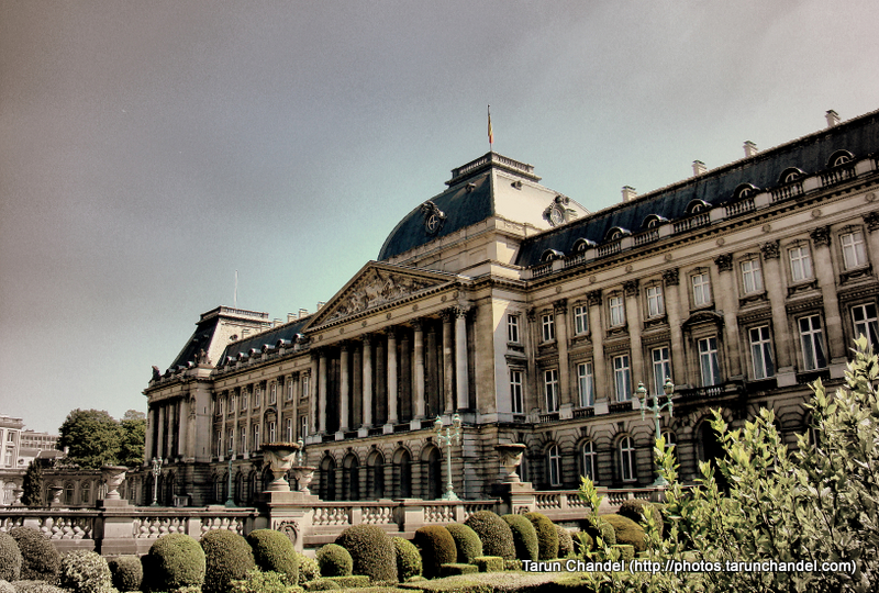 Brussels Royal Palace of Brussels Belgium, Tarun Chandel Photoblog