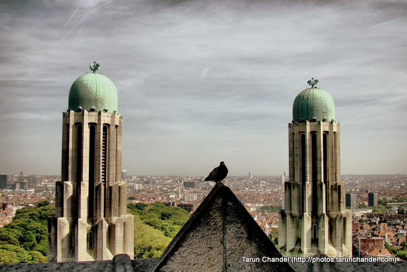 Basilica of the Sacred Heart Brussels Belgium Towers, Tarun Chandel Photoblog