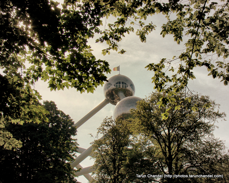 Atomium Garden Belgium Brussels, Tarun Chandel Photoblog