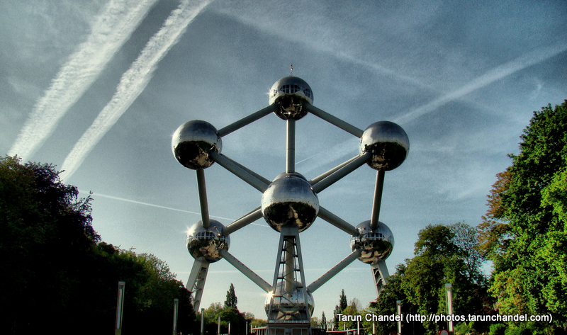 Atomium Sky Belgium Brussels, Tarun Chandel Photoblog