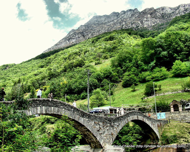 Ponte dei Salti double arch stone bridge Lavertezzo Verzasca valley Switzerland, Tarun Chandel Photoblog