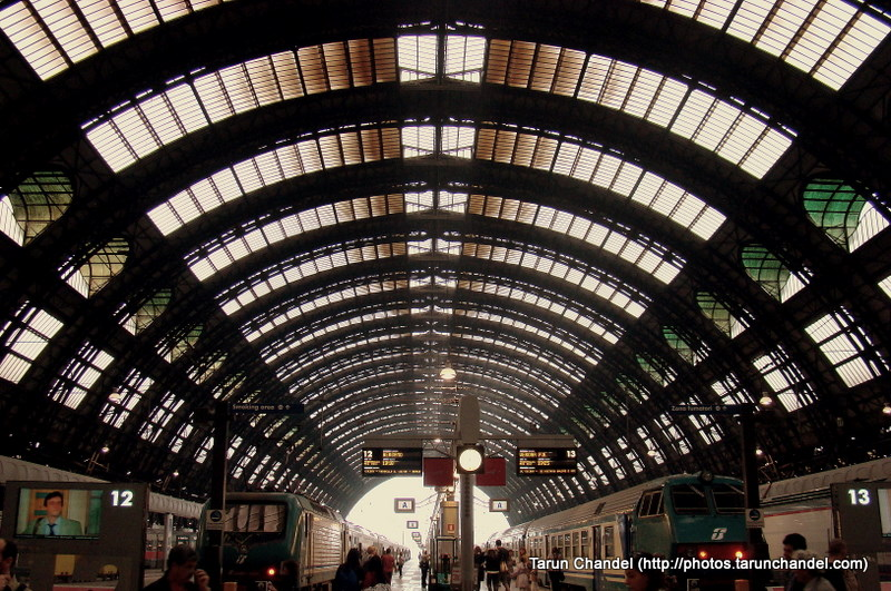 Milan Central Station Milan Italy, Tarun Chandel Photoblog