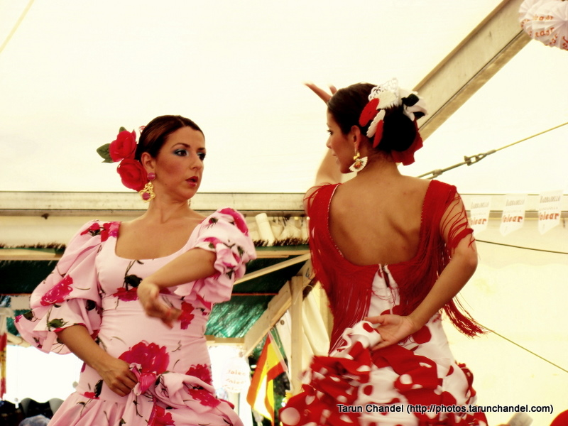 Spanish Girls Flamenco Dance Spanish Feria Brussels, Tarun Chandel Photoblog