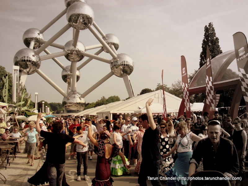 Atomium Flamenco Dance Spanish Feria Brussels, Tarun Chandel Photoblog